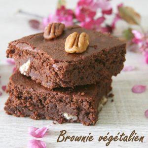 Brownie fondant aux noix de pécan bio