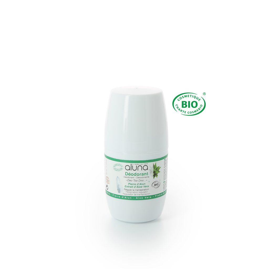 Roll-On Déodorant Biologique Aluna