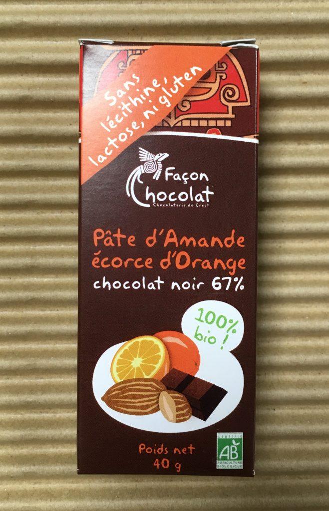 Nouvelle barre chocolatée chez Façon Chocolat