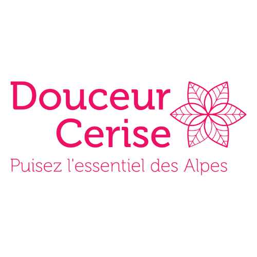 Logo douceur cerise