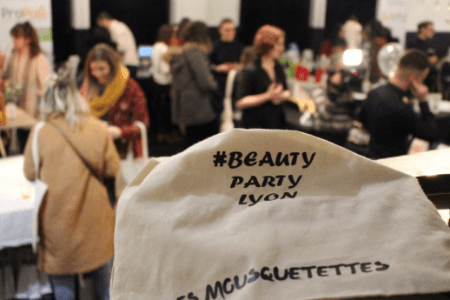 Soirée beauty party à Lyon 2019