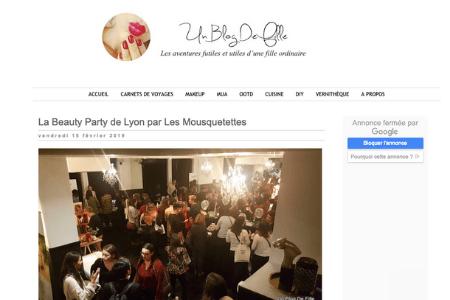 Retombée presse - Un blog de fille - Namaki : Cosmoz, Douceur Cerise, Markal, Tendances d'Emma et La Drôme