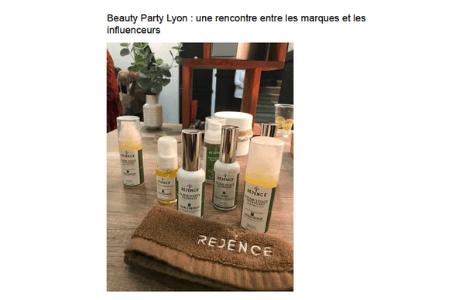 Retombées-presse VL Média - Beauty Party Lyon : une rencontre entre les marques et les influenceurs