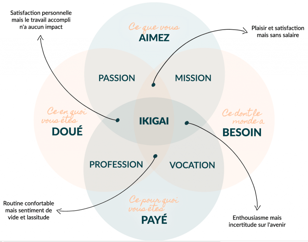 Ikigai : à la recherche de soi
